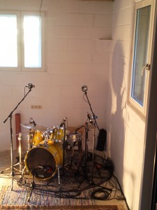 Recording Raum Drums Nr.2